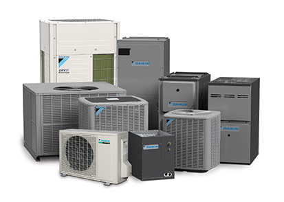 What are the different types of heat pumps product shot