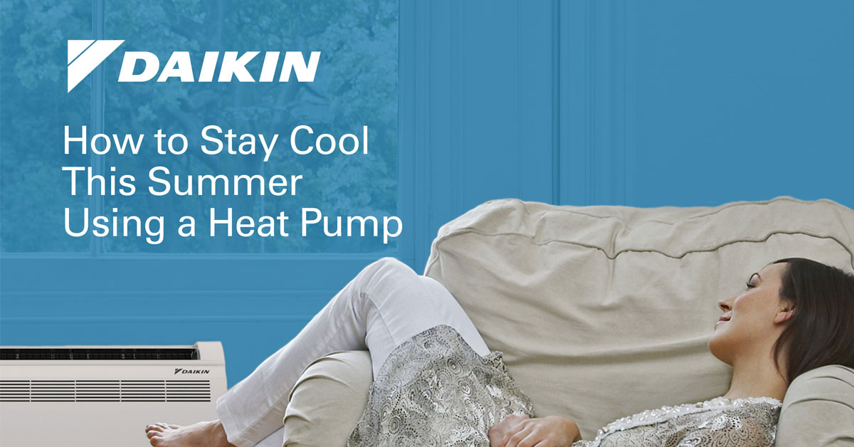 the cover for How to Stay Cool in the Summer Using a Heat Pump