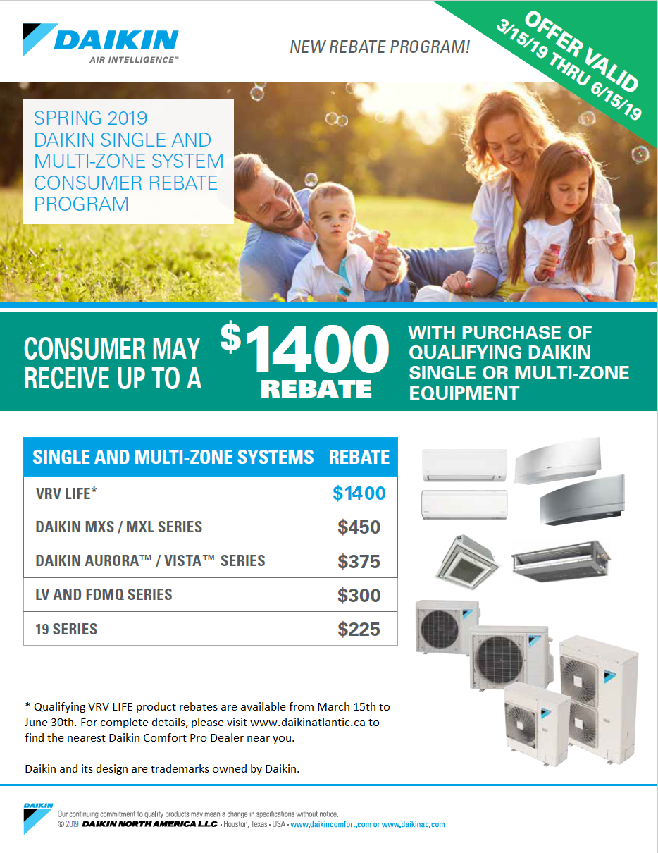 Heat Pumps | Daikin Atlantic