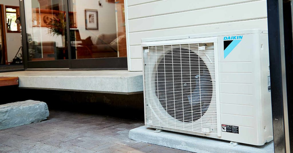 Daikin FIT heat pump outdoor unit
